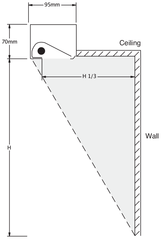 linear 100 range plaster recess  tee