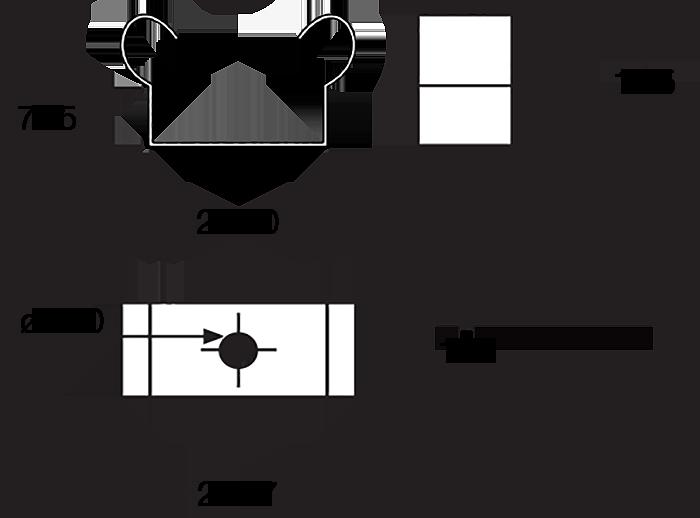 UniStrut Clip Dimensions
