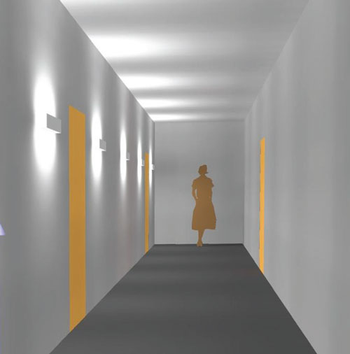 Up/Down Corridor Display