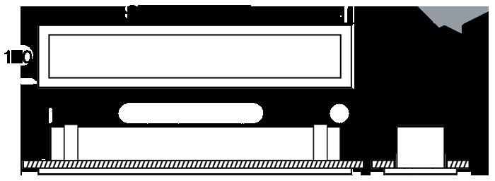 Linear 100 KLean44 standard diagram