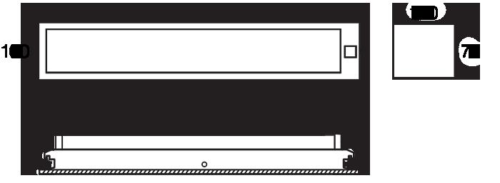 Linear 100 RH215 emergency diagram
