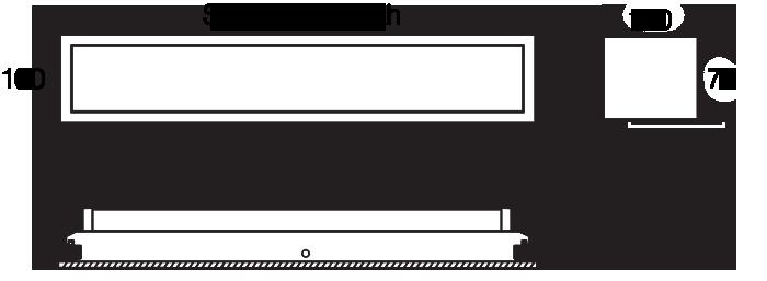 Linear 100 RH215 standard diagram