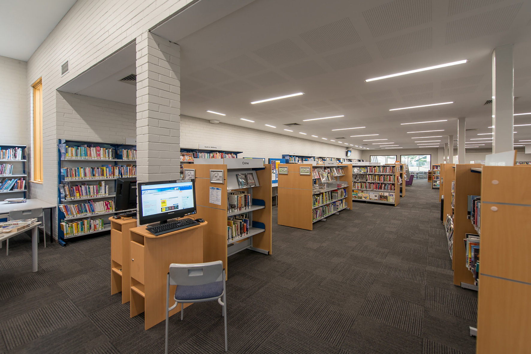 Linear 100 P Endeavour Hills Library 3