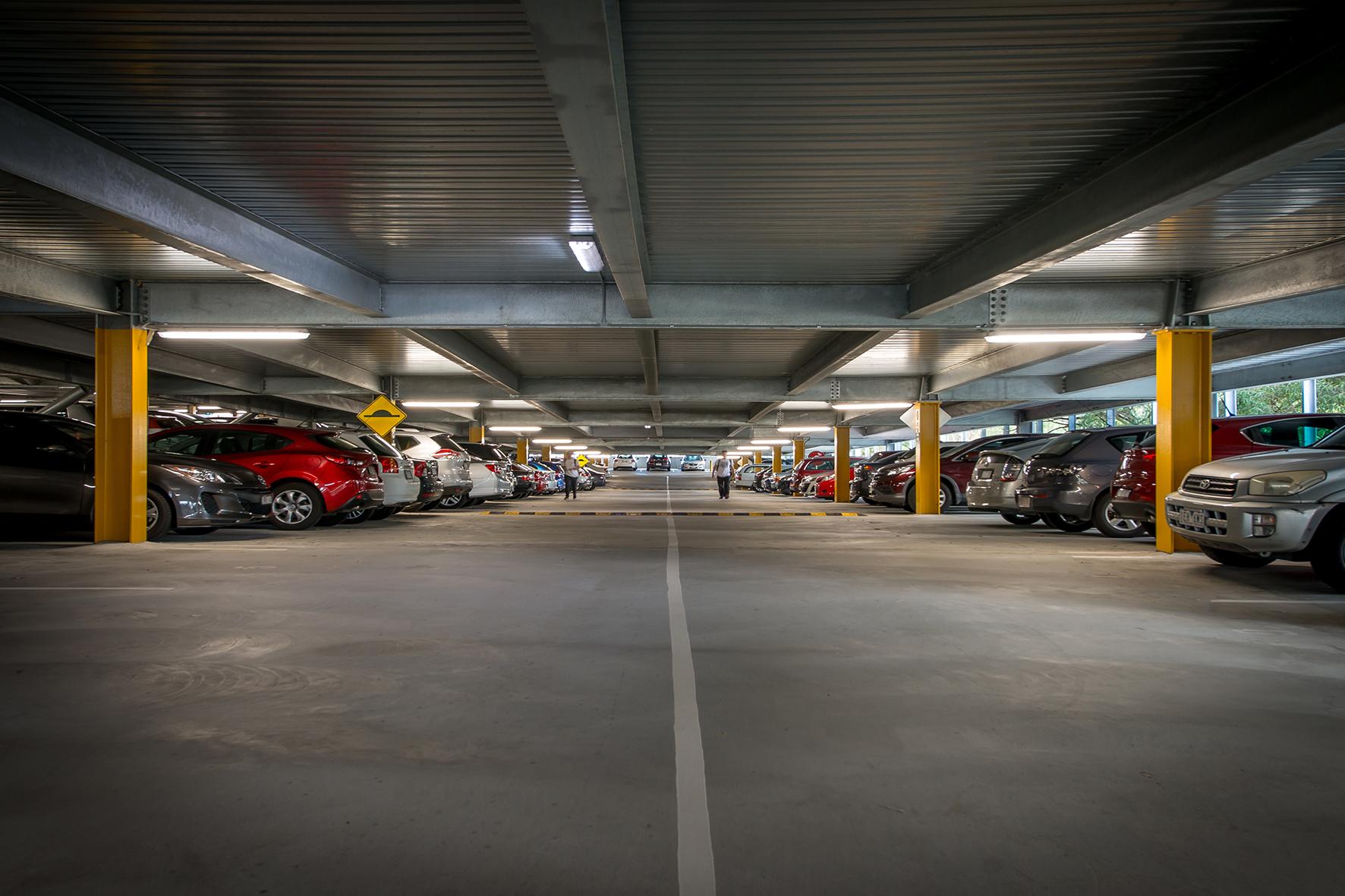 Storm Monash Uni Car Park 1